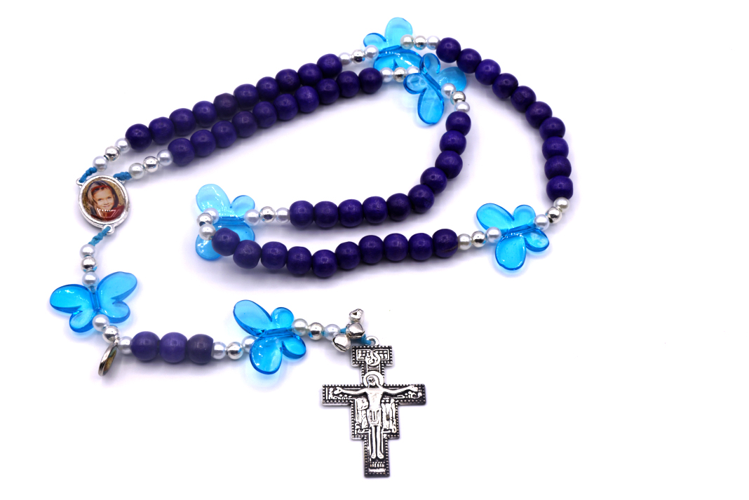 Christina's butterfly Rosary