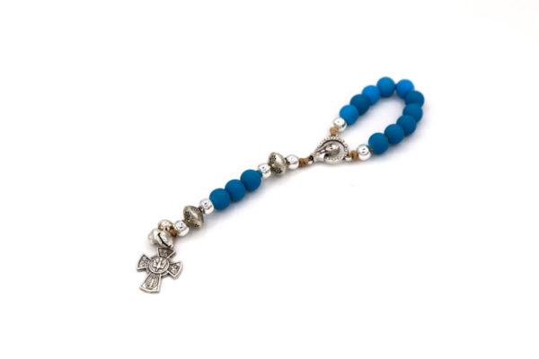 Blue Pocket Rosary