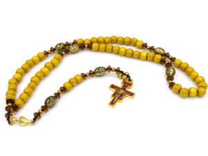 Gold-Plate San Damiano Rosary