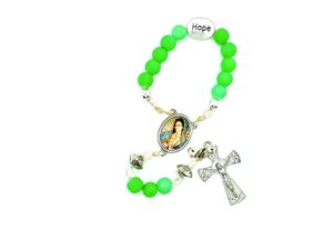 Love, Peace and Hope Pocket Rosaries