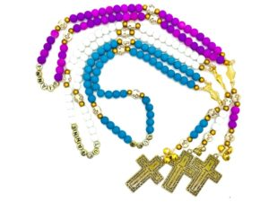 Personalized Cross Rosary