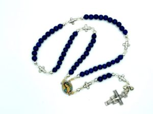 Blue Cross Rosary